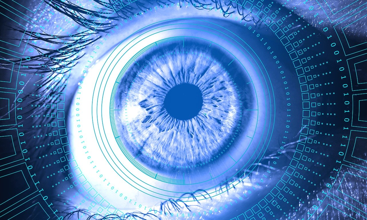 eye, information, technology